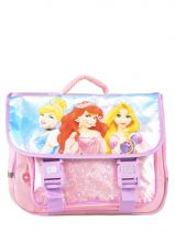Cartable 2 Compartiments Princess Rose smile 13608