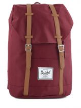 Sac à Dos 1 Compartiment + Pc 15'' Herschel Rouge classics 10066