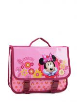 Cartable 1 Compartiment Minnie Rose happy girl 23416HAP