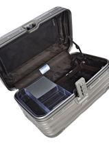 Beauty Case Topas Titanium Rimowa Gris topas titanium 92338030-vue-porte