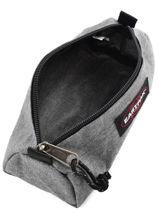 Trousse 1 Compartiment Eastpak Gris authentic K298-vue-porte