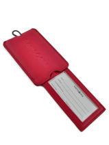 Porte-adresse Samsonite Rouge accessoires U23214-vue-porte