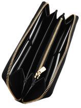 Porte-monnaie Cuir Coach Noir casual 53797-vue-porte
