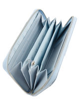 Portefeuille Armani jeans Blauw vernice lucida 5V32-55-vue-porte