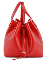 Sac Bandoulière Pur Smooth Lancaster Rouge pur smooth 423-10