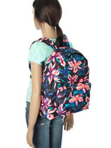 Sac à Dos 1 Compartiment Roxy Multicolore backpack JBP03158-vue-porte