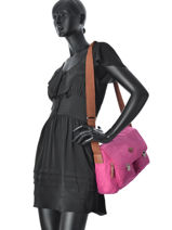 Sac Cartable Nice Jump Rose nice 6524-vue-porte