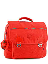 Cartable 2 Compartiments Kipling Orange back to school 21092