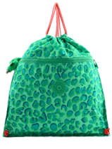 Sac De Sport Kipling Vert back to school 9487