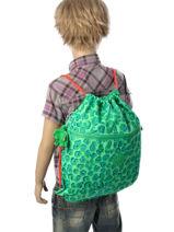 Sac De Sport Kipling Vert back to school 9487-vue-porte