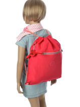 Sac De Sport Kipling Rose back to school 9487-vue-porte