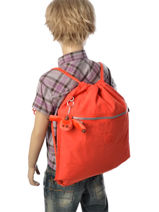 Sac De Sport Kipling Orange back to school 9487-vue-porte