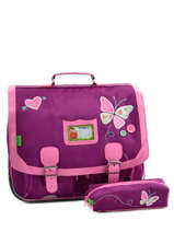 Cartable 2 Compartiments Avec Trousse Offerte Tann