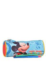 Trousse 1 Compartiment Mickey Multicolore minnie house 13007-vue-porte