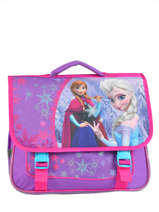 Cartable 2 Compartiments Frozen Bleu christal 13424