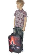 Valise Enfant Star wars Noir lazer 13804-vue-porte