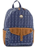 Sac à Dos 1 Compartiment Roxy Bleu back to school JBP03269