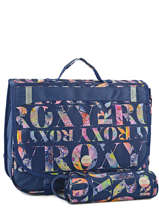 Cartable 2 Compartiments Avec Trousse Offerte Roxy Bleu kid LBP03015