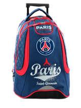 Sac à Dos à Roulettes 2 Compartiments Paris st germain Multicolore paris 163P204R