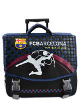 Cartable à Roulettes 2 Compartiments Fc barcelone Noir 1899 163B203R