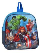 Rugzak Mini Avengers Blauw basic AST0964