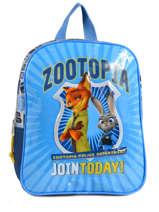 Sac à Dos Zootopia Bleu join today 95947ZOT