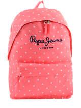 Sac à Dos 1 Compartiment Pepe jeans Rose stars 63623