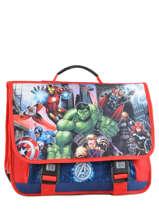 Cartable 3 Compartiments Avengers Multicolore city 2024261