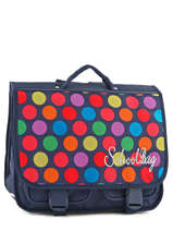 Cartable 2 Compartiments Miniprix Multicolore dot 16302