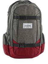Sac à Dos 1 Compartiment + Pc 15'' Dakine Rouge snowpacks 1000-761