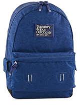 Sac à Dos 1 Compartiment Superdry Bleu backpack men U91004DN