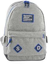 Sac à Dos 1 Compartiment Superdry Gris backpack men U91007DN
