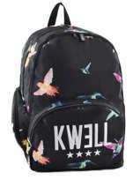 Sac à Dos 2 Compartiments Kwell Noir colibri 761116
