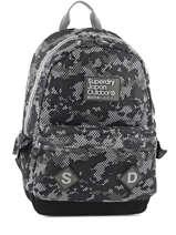 Sac à Dos 1 Compartiment Superdry Gris backpack men U91001DN