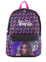 Sac à Dos 1 Compartiment Chica vampiro Noir black purple 668TMF