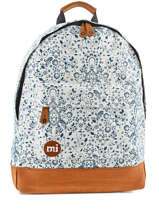 Sac à Dos 1 Compartiment Mi pac Blanc bagpack 740219