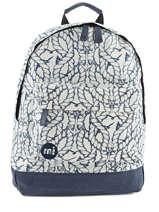 Sac à Dos 1 Compartiment Mi pac Blanc bagpack 740220