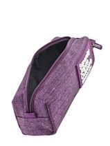 Trousse 1 Compartiment Superdry Violet accessories girl U98001DN-vue-porte
