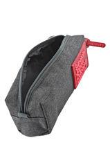 Trousse 1 Compartiment Superdry Gris accessories woomen U98001DN-vue-porte