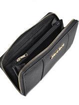 Portefeuille Armani jeans Noir eco saffiano multico C5V88-S6-vue-porte