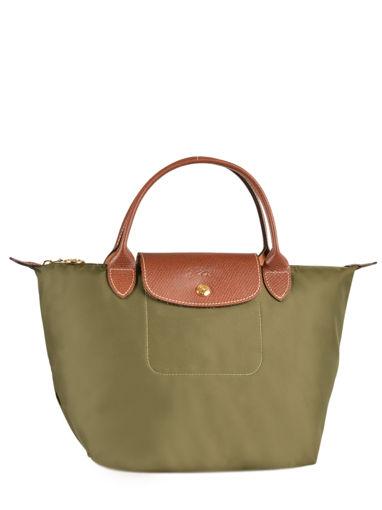 Longchamp Sac porté main Vert