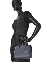 Sac Shopping Casual Cuir Coach Bleu casual 37145-vue-porte