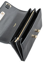 Porte-monnaie Cuir Coach Noir fashion 53028-vue-porte