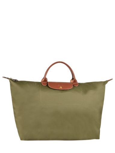 Longchamp Sac de voyage Vert