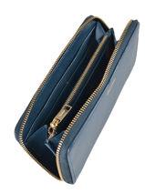 Portefeuille Cuir Repetto Bleu coppelia M0395BCD-vue-porte