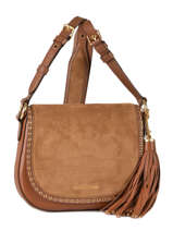 Sac Bandoulière Brooklyn Cuir Michael kors Marron brooklyn F6ABNM2S
