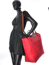 Longchamp Sac de voyage Vert-vue-porte