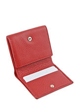 Porte-monnaie Cuir Yves renard Rouge foulonne 23808-vue-porte