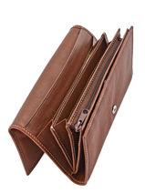Porte-monnaie Cuir Petit prix cuir Marron elegance SA910-vue-porte
