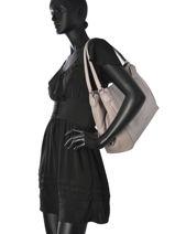 Sac Shopping Casual Cuir Coach Gris casual 58052-vue-porte
